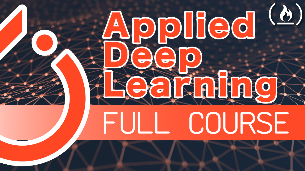 Learn to apply deep learning with PyTorch in this full course