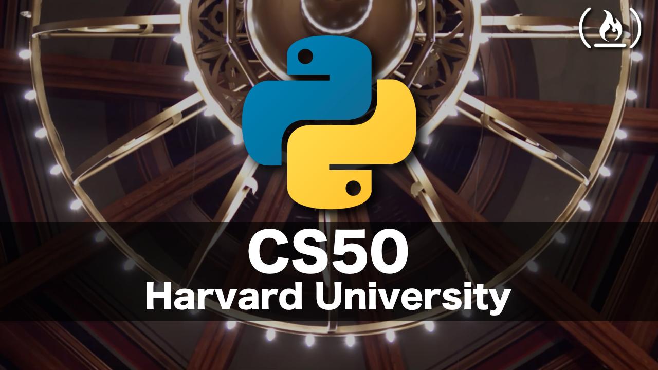 Learn Python from Harvard's CS50