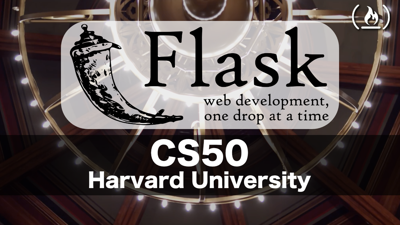 Learn Web Programming with Flask from Harvard's CS50