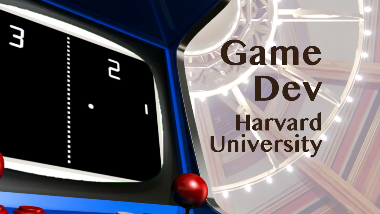 Learn game development with this free course from Harvard