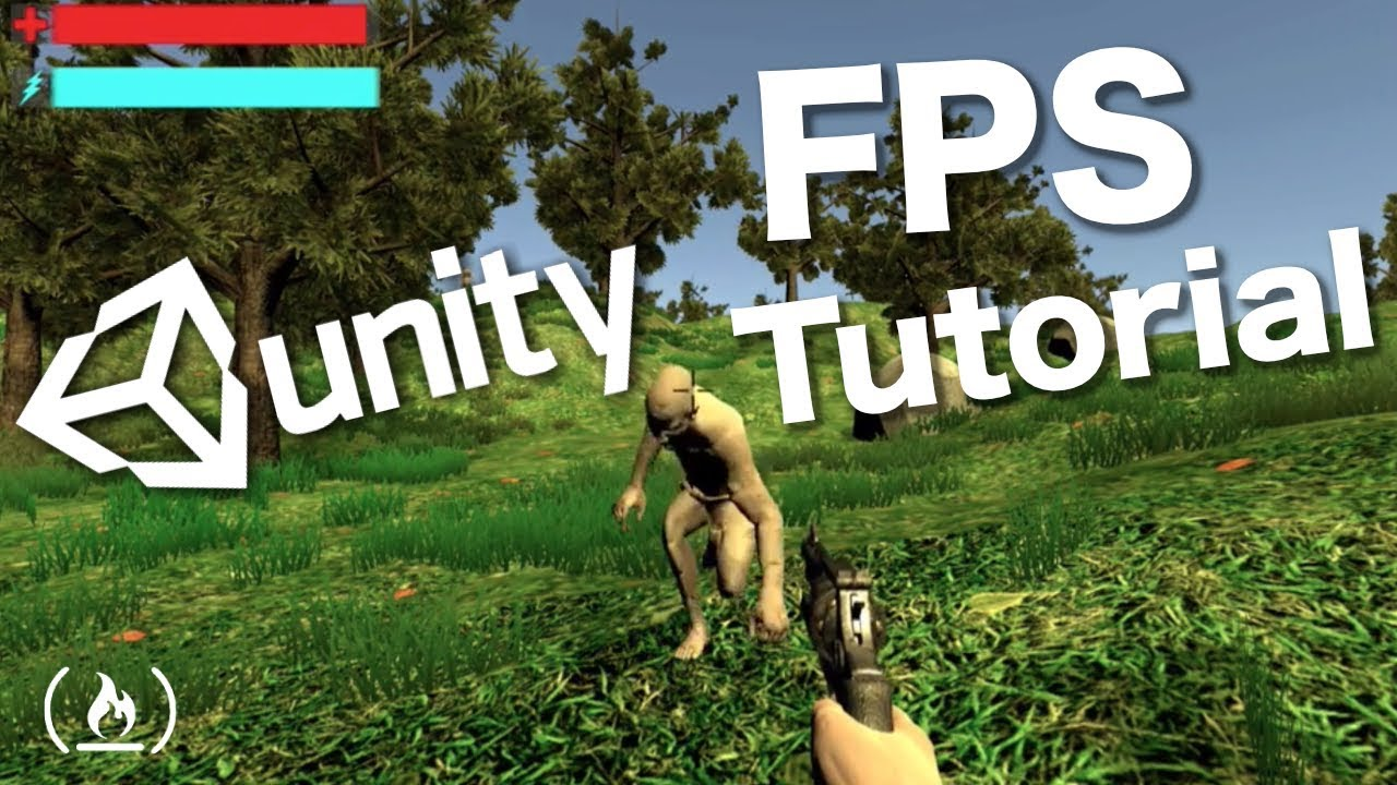 Build Your Own First Person Shooter Game: 8-hour Unity 3D GameDev Tutorial