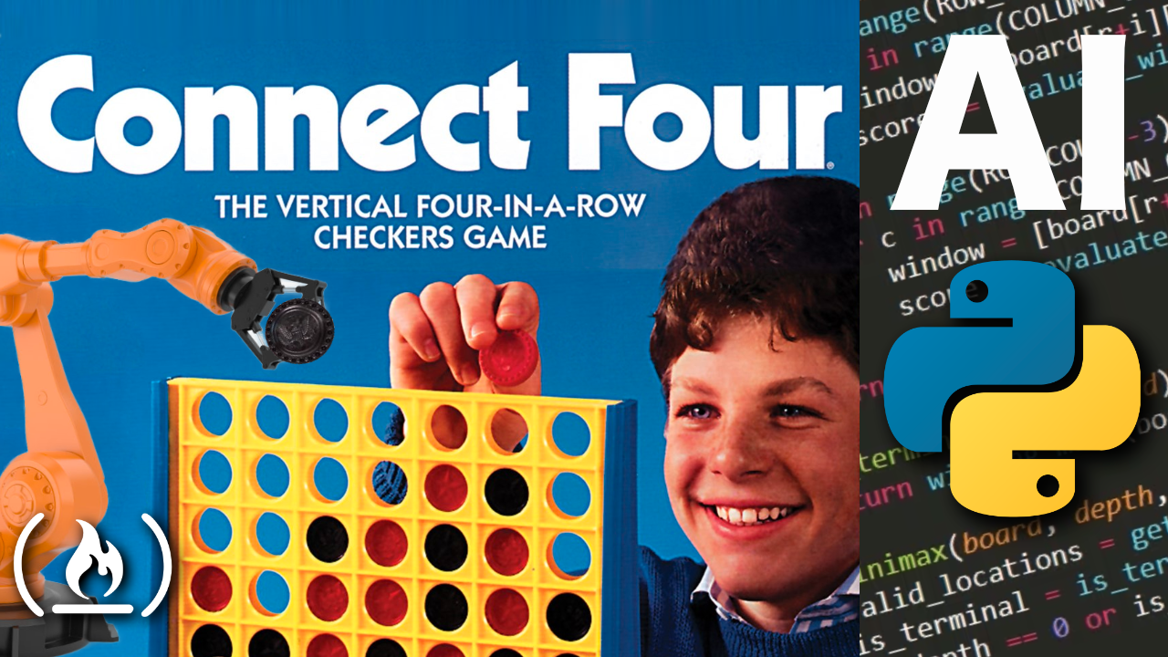 Create a Connect Four AI using Python