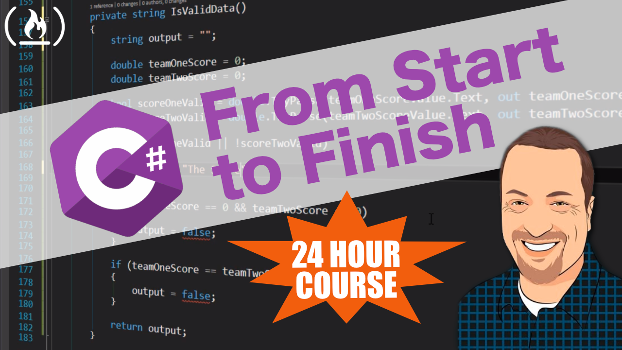 Create a C# Application from Start to Finish - Complete 24-Hour Course