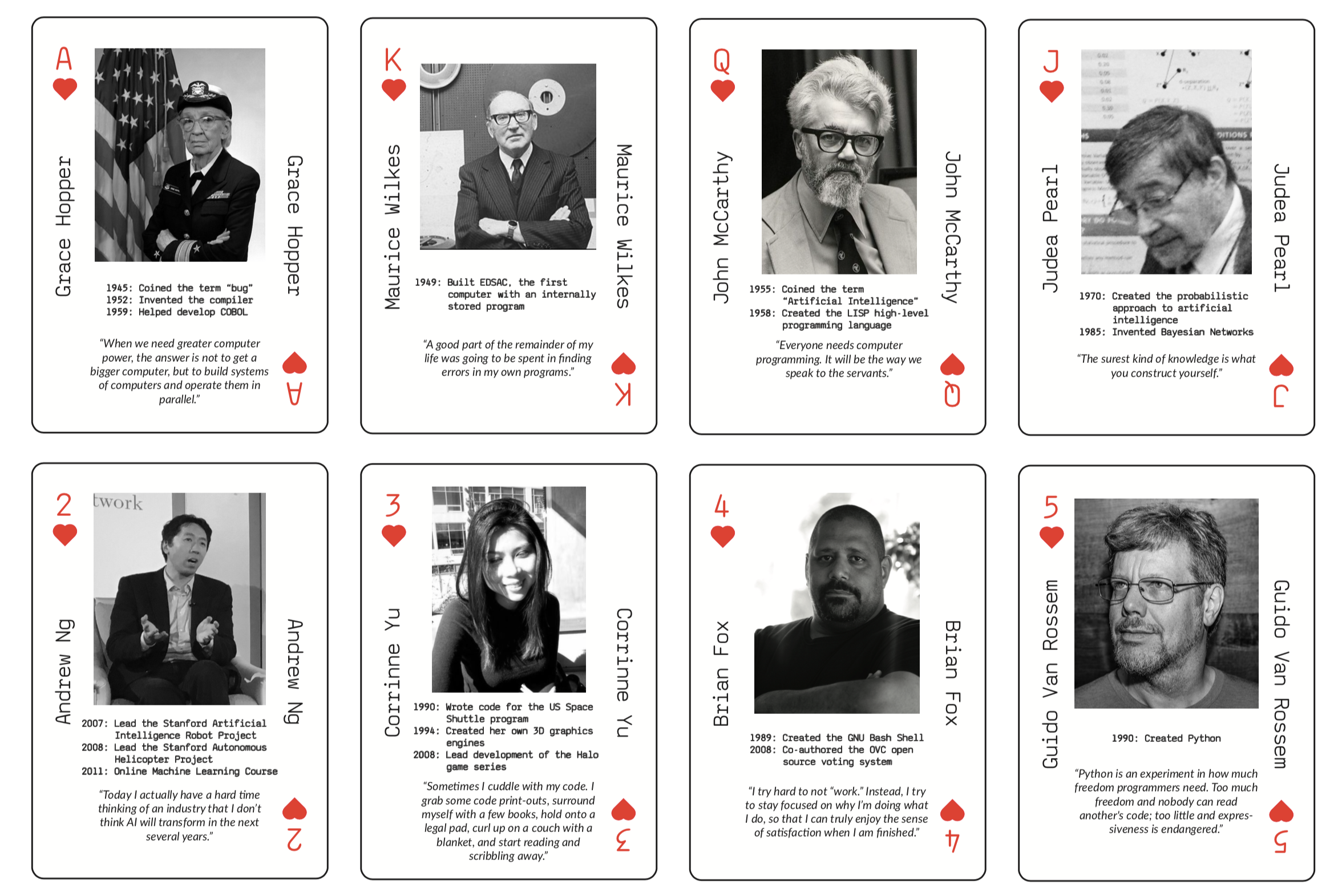 Introducing Programmer Playing Cards