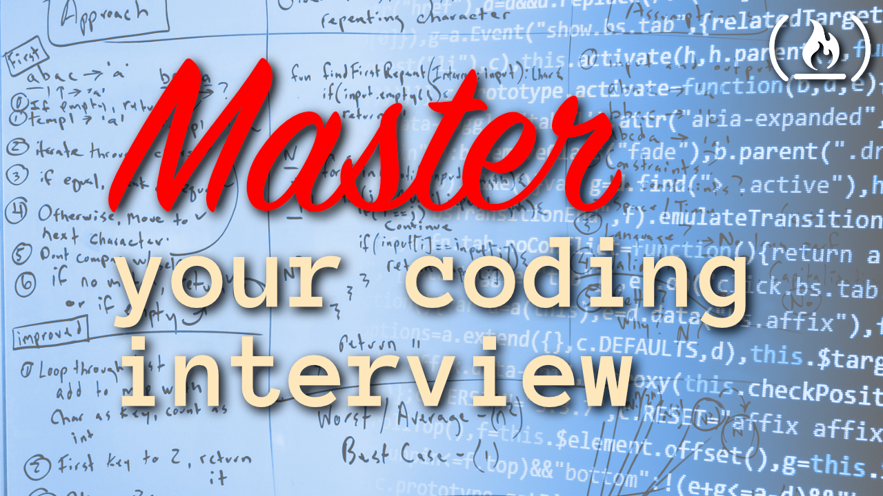 Master your coding interview