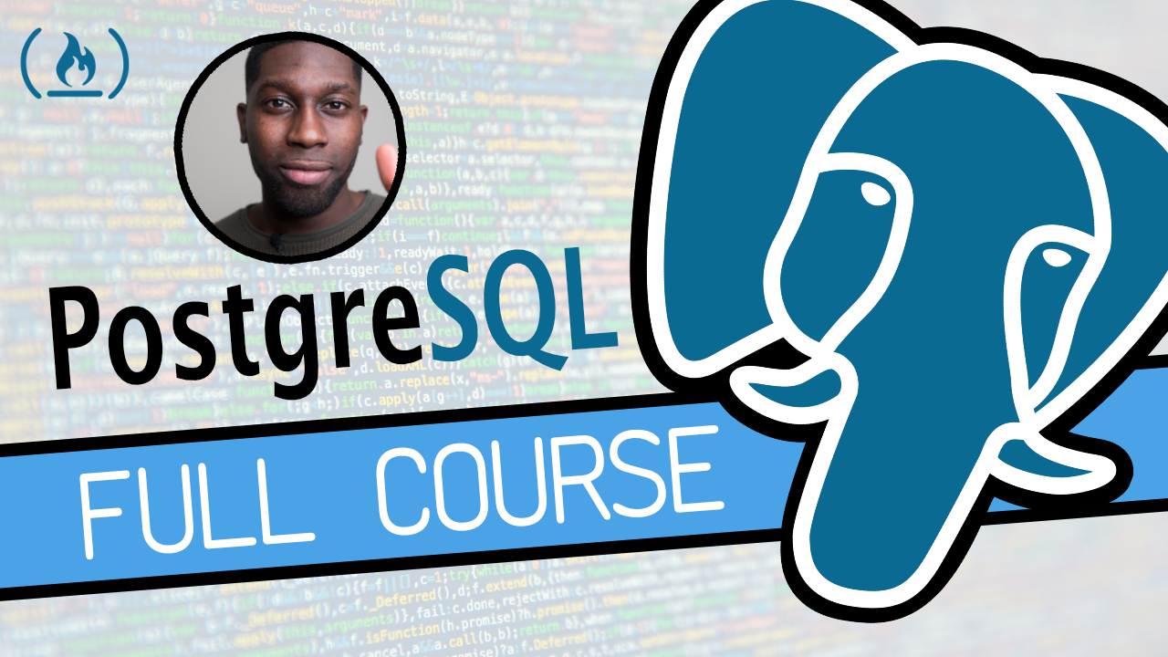 Learn SQL with this free 4-hour course on the popular PostgreSQL database
