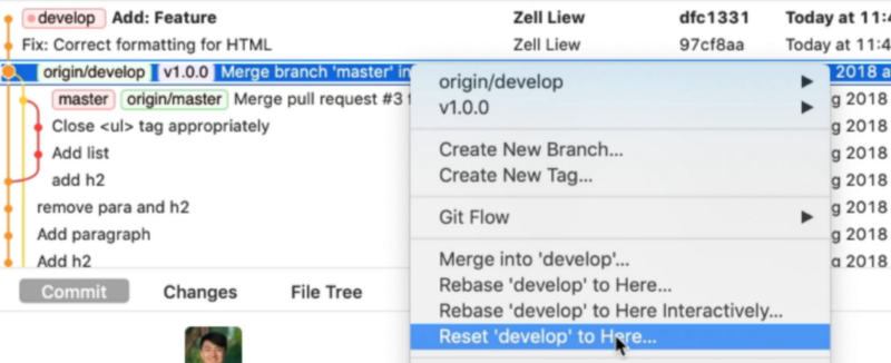 How to undo changes in Git