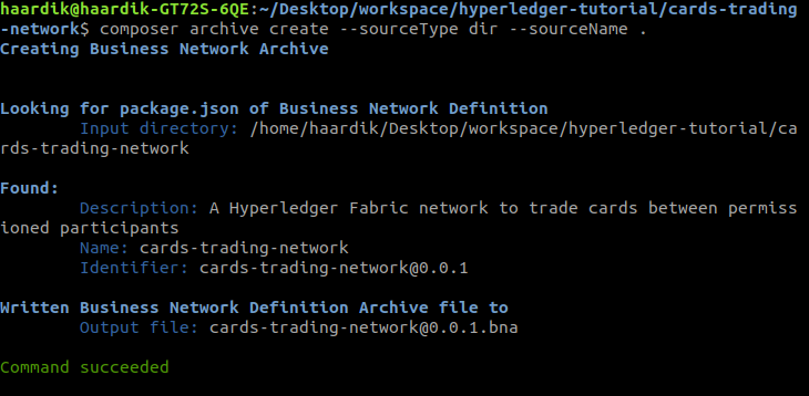 How to build a blockchain network using Hyperledger Fabric