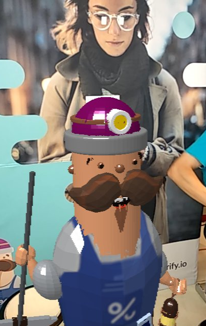 How we brought our product mascot to life with AR.js