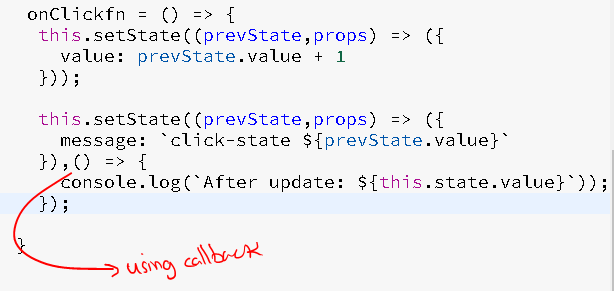 A quick intro to setState in React js