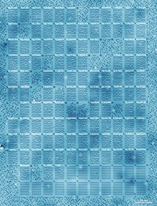 Scientists can now store data with individual atoms