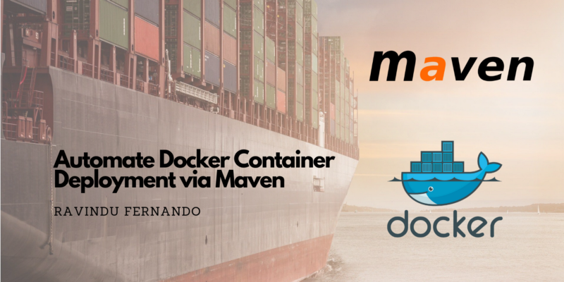 How to automate Docker container deployment via Maven