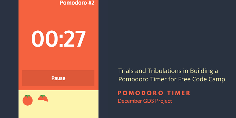 December Go Design Something Project: Pomodoro Timer