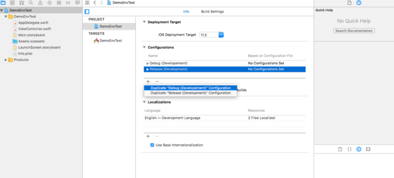 How to manage different environments and configurations for
