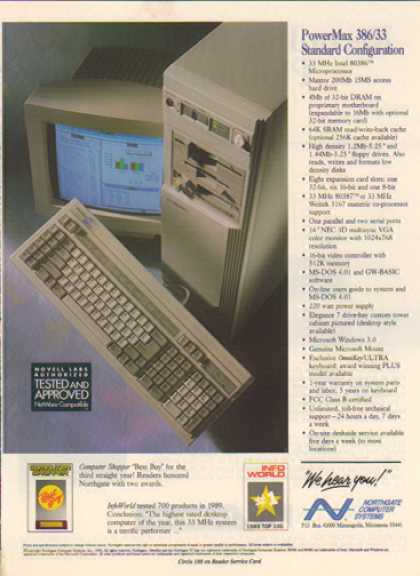 How PCs were advertised in the 1990s