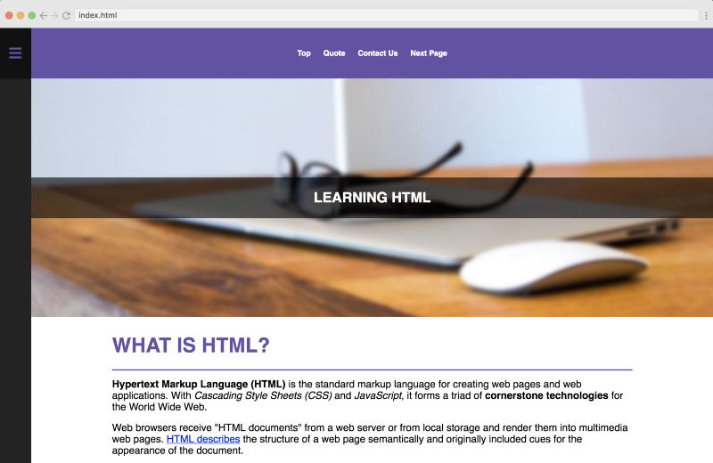 Learn HTML5 in this free and interactive course for beginners