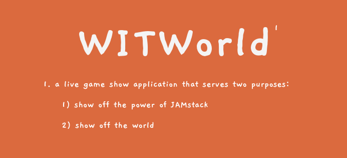 The power of JAMstack: How 4 strangers built an interactive live Game Show app in a short weekend
