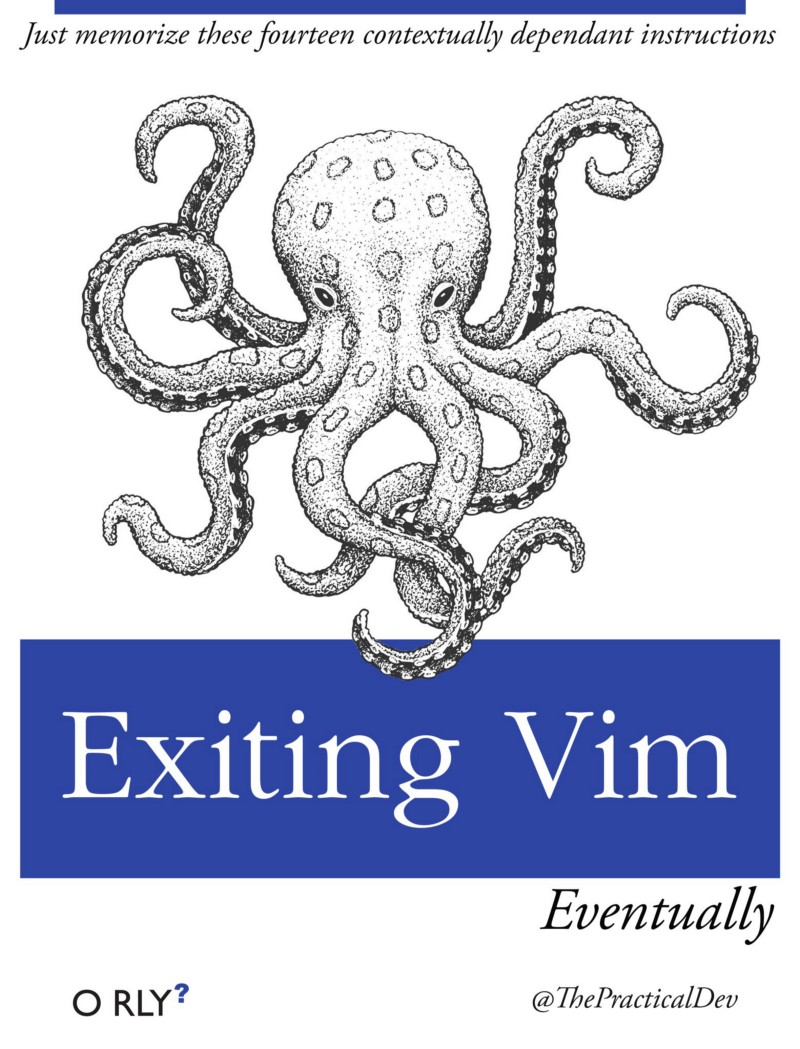 How to Quit Vim and Exit the VI Editor — the most popular Stack Overflow question