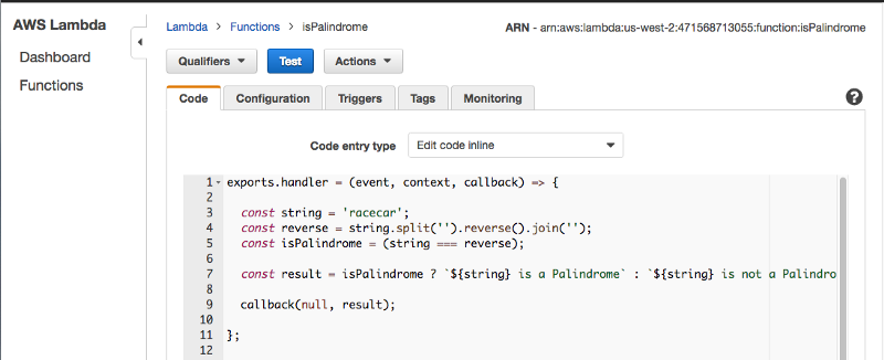 Going Serverless: how to run your first AWS Lambda function