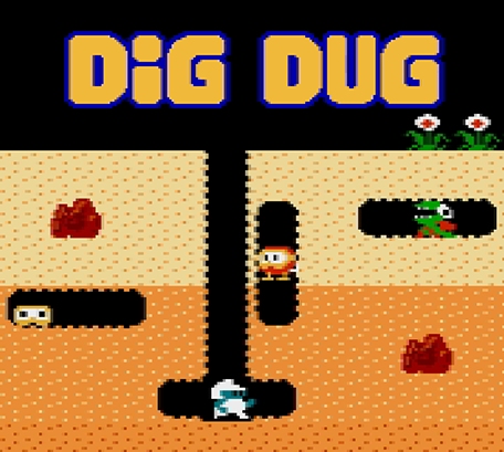 Let's build the Dig Dug game using MelonJS
