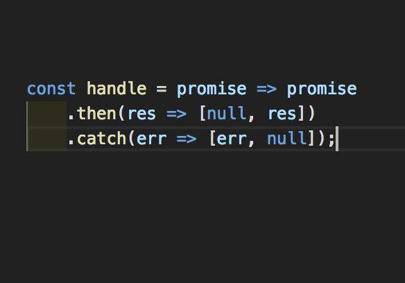 My favourite line of code