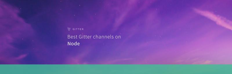 Best Gitter channels: Node.js