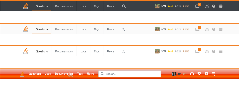 Inside Stack Overflow's radical navigation bar redesign