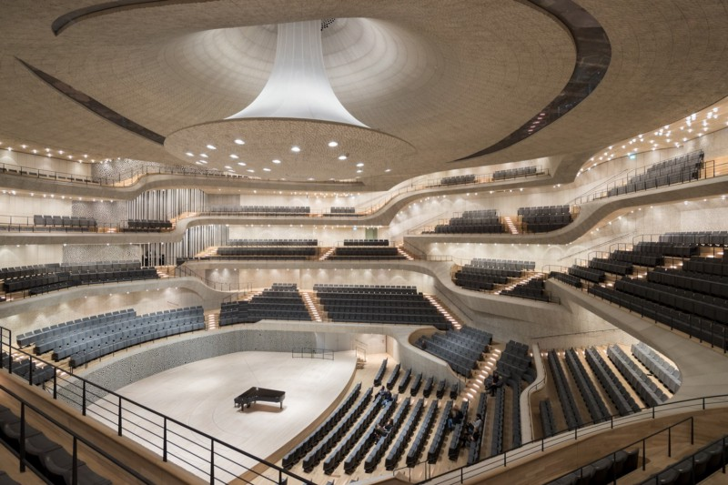 What happens when algorithms design a concert hall?