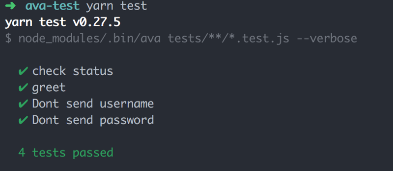 How you can test your Node js applications with Ava js