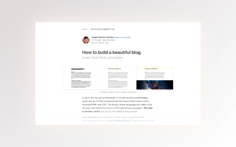How To Build A ? Responsive Blog Design With Bulma CSS
