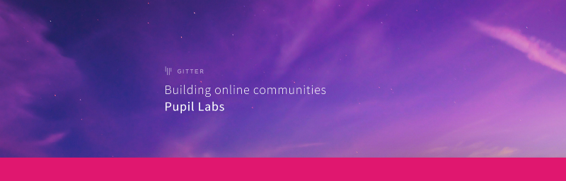 Building Online Communities: Pupil Labs