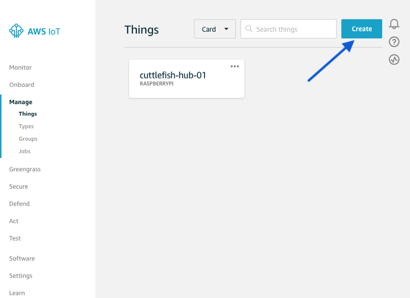 How to measure temperature and send it to AWS IoT using a