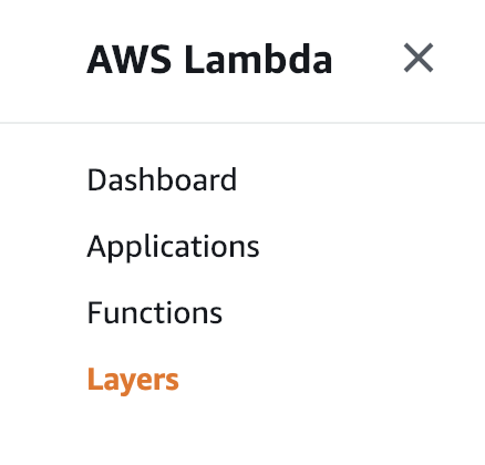 How to build and use a Layer for your AWS Lambdas