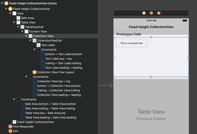 How to make height collection views dynamic in your iOS apps