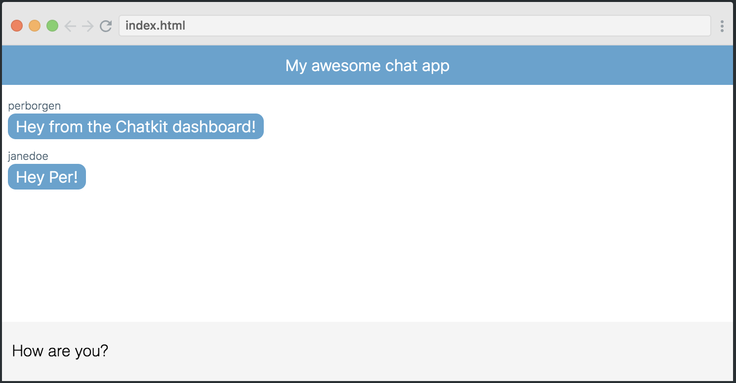 Learn to build a React chat app in 10 minutes - React JS tutorial
