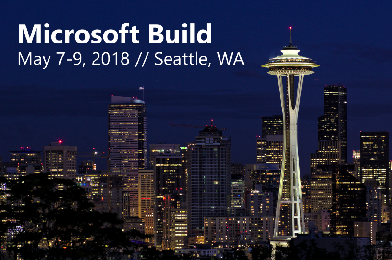 Microsoft Build 2018 from the perspective of a UX designer