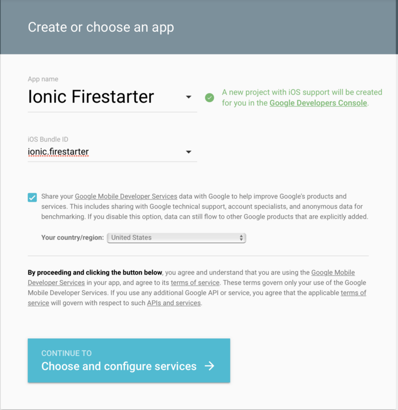 How to integrate Google Login into an Ionic app with Firebase