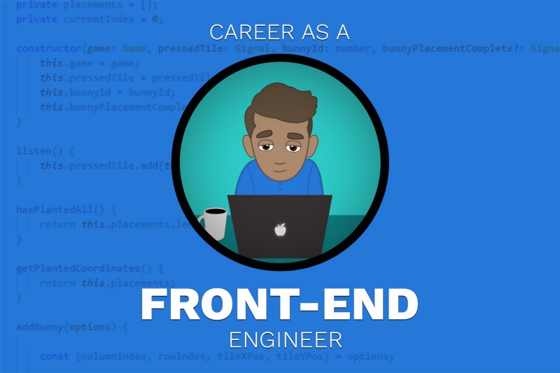 My role as a Front-end Web engineer explained ?