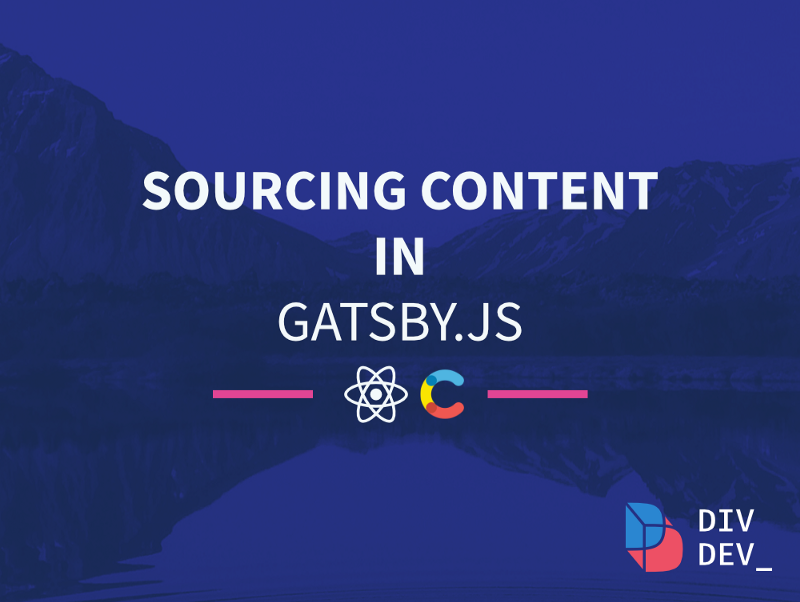 How to source content with Gatsby.js