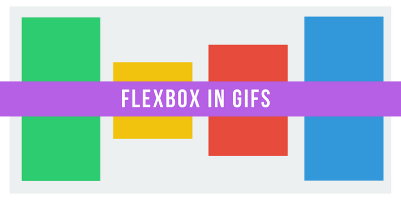 Flexbox explained with big, colorful, animated gifs