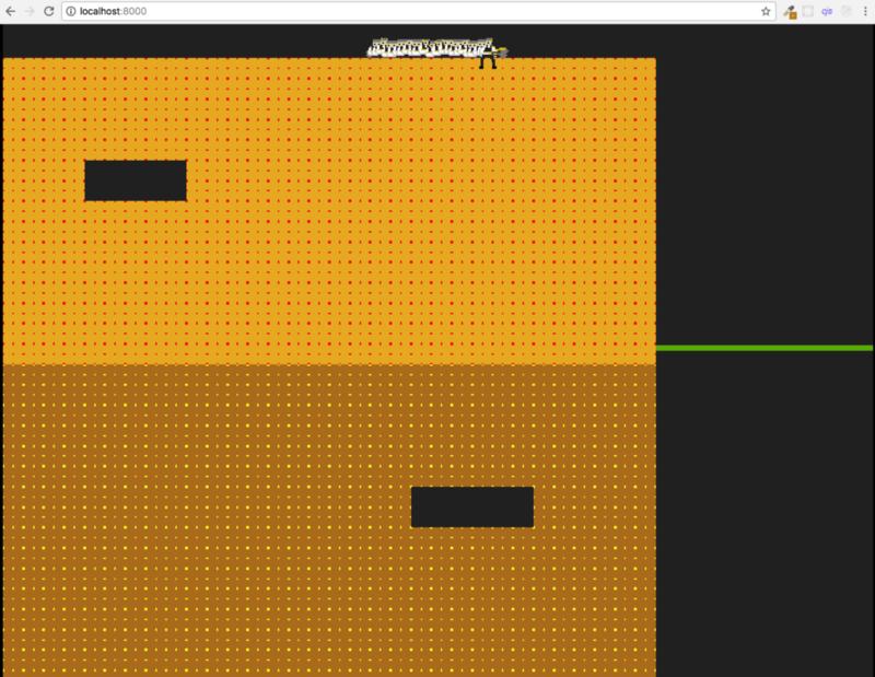 Let's build the Dig Dug game using MelonJS