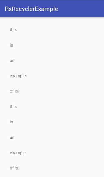 Simplifying RecyclerView Adapters with Rx & Databinding