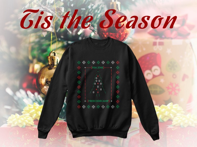 Code Briefing: The geekiest ugly sweater ever
