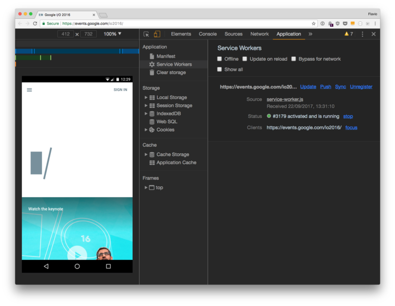 How to debug Progressive Web Apps using Browser Developer Tools