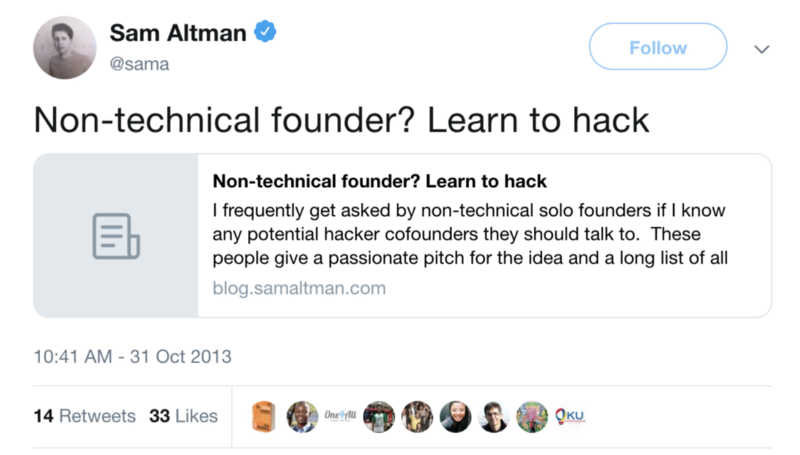 How to become your own technical co-founder — and why it's worth your time