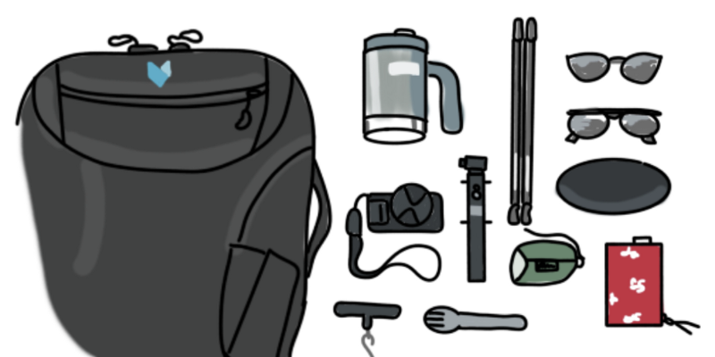 How I used algorithms to solve the knapsack problem for my real-life carry-on knapsack