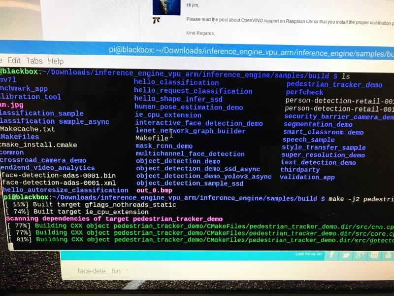 Perf Machine Learning on Rasp Pi