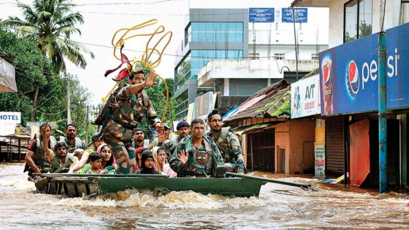 At the eye of the storm: how I helped save people during the disastrous Kerala floods