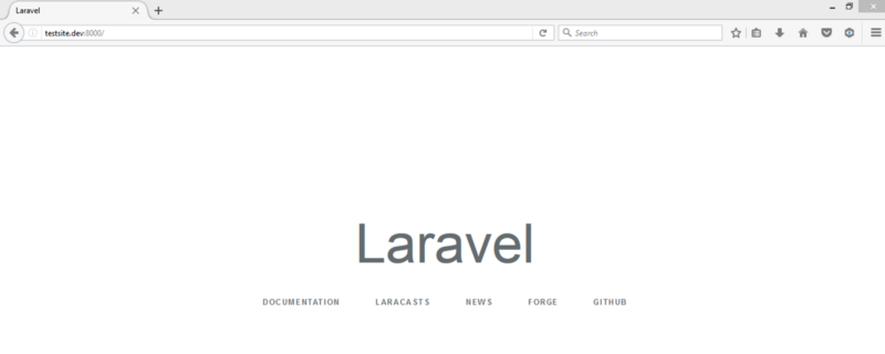 A simplified approach to installing laravel using Homestead
