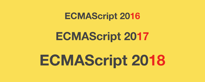 Here are examples of everything new in ECMAScript 2016, 2017, and 2018
